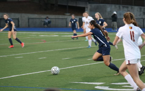 Varsity girls soccer faces crushing defeat against Menlo-Atherton