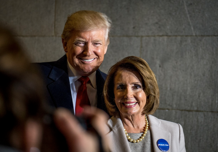 President+Trump+and+Speaker+of+the+House%2C+Nancy+Pelosi%2C+have+met+several+times+throughout+the+shutdown+to+discuss+a+plan+for+immigration+and+ending+the+shutdown.