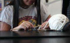 Gosh Yarn It Club knits students closer together
