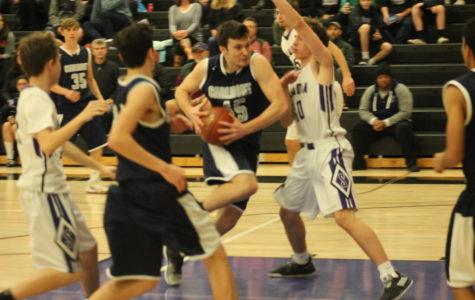 JV boys basketball breaks their losing streak