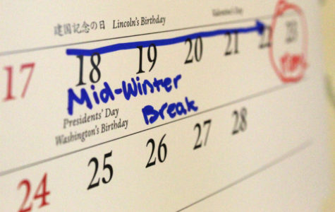 Mid-winter break presents students with a choice
