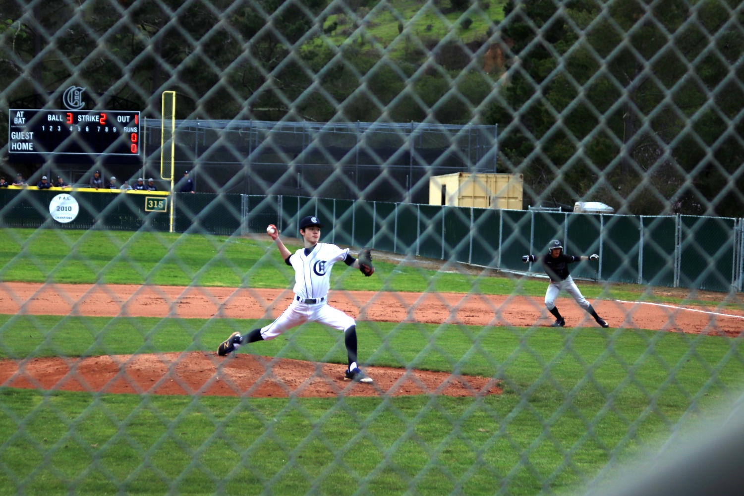 Pitcher+Tai+Takahashi+throws+a+strike+against+Sequoia+in+the+1st+inning.