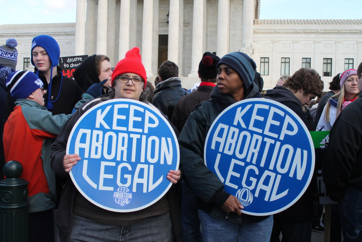 Abortion rights have been up for debate since abortion became a medical practice. The March for Life is a protest of the rights granted after Roe v. Wade, which some pro-choicers attend to advocate the protection of these rights.