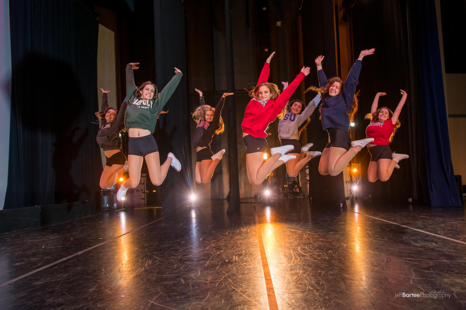 The seniors in the Carlmont dance program are jump into next year and beyond.