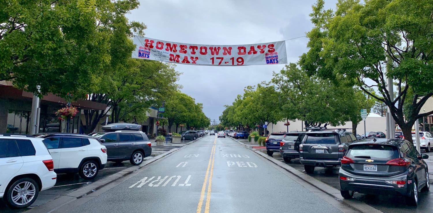 Hometown Days takes place annually every third weekend in May.
