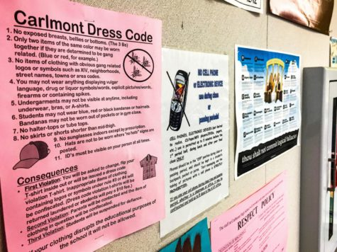 Students raise concerns regarding dress code