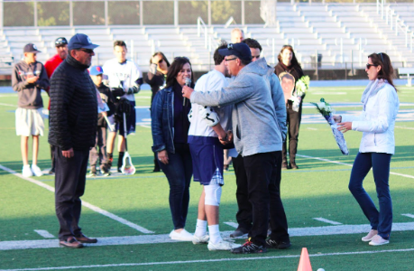 Last home game for varsity boys lacrosse ends in defeat
