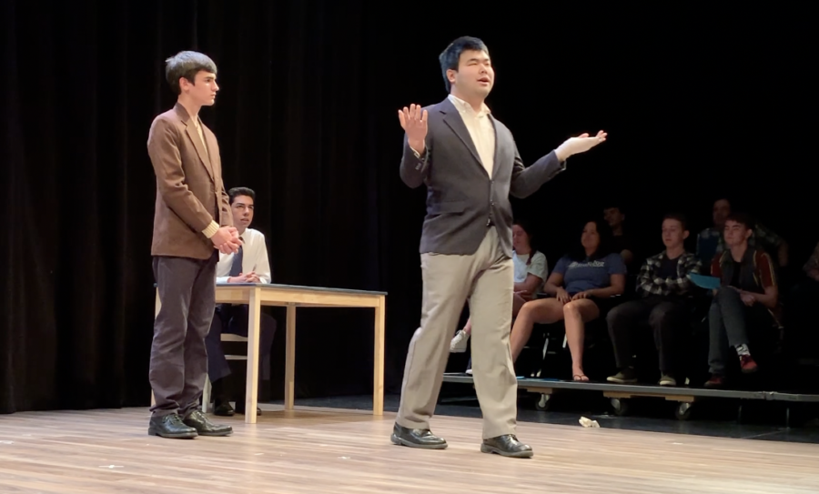 Students show off their creativity through acting