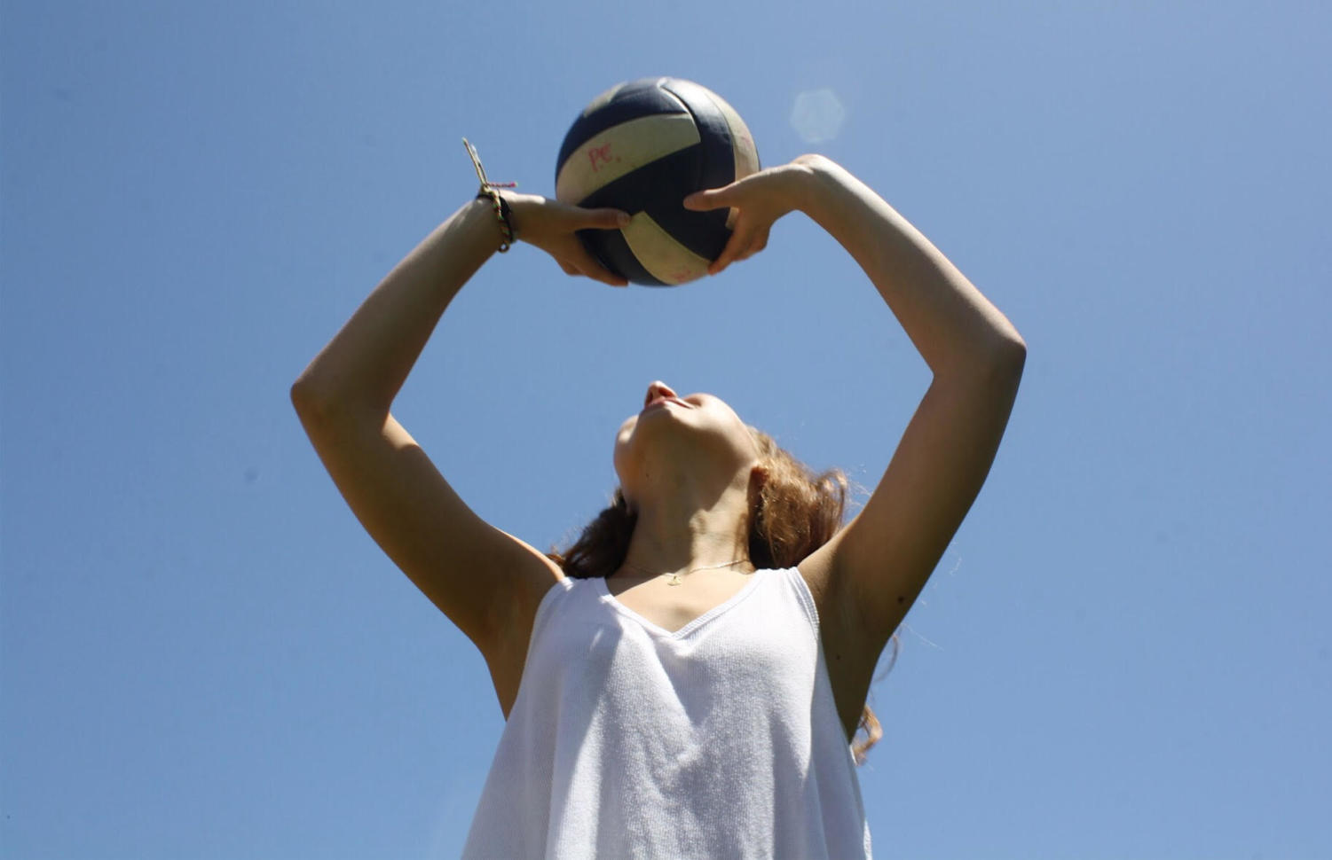Some students play other sports in the summer in order to stay in shape in a fun way.