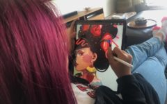 Aspiring artist overcomes challenges to pursue career in the art field
