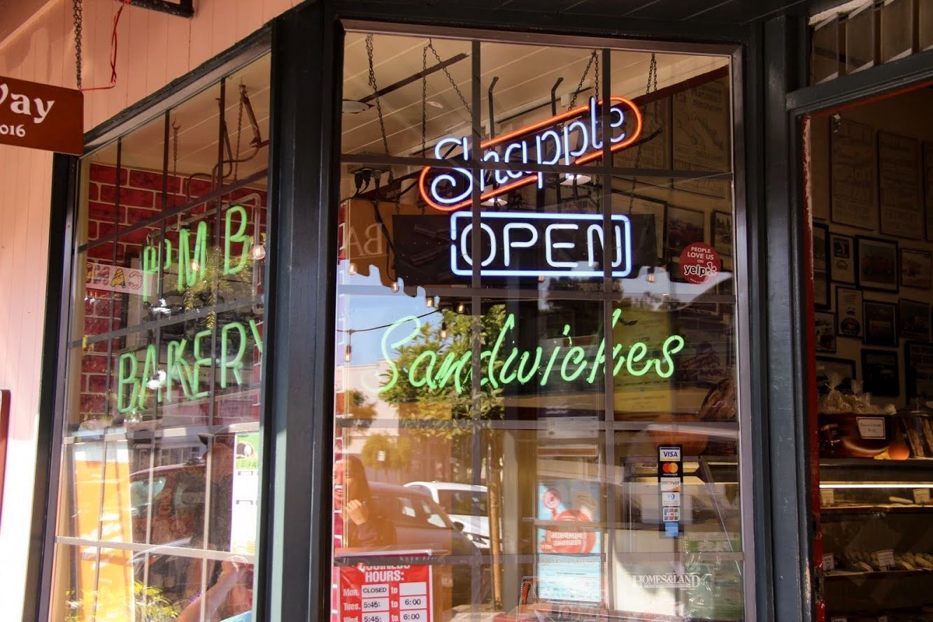 Small businesses in Half Moon Bay began opening up again on Oct. 12.