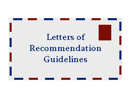 Opinion: Recommendations for getting letters of rec