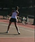 Varsity girls tennis vanquished Woodside