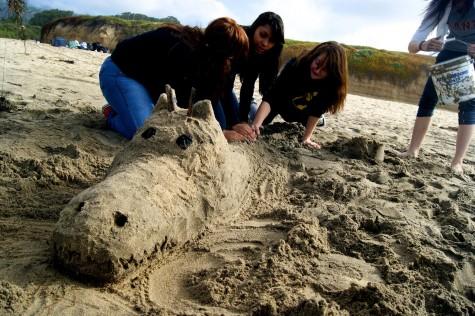 Academy class takes on the beach
