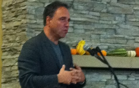Anthony Horowitz comes to the Belmont Library