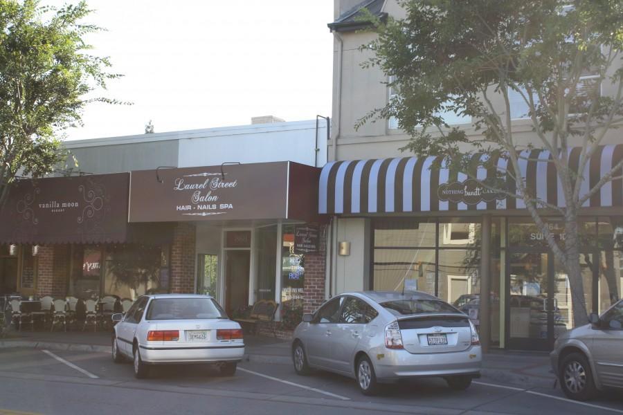 Nothing Bundt Cakes, Laurel Street Salon and Vanilla Moon on Laurel Street
