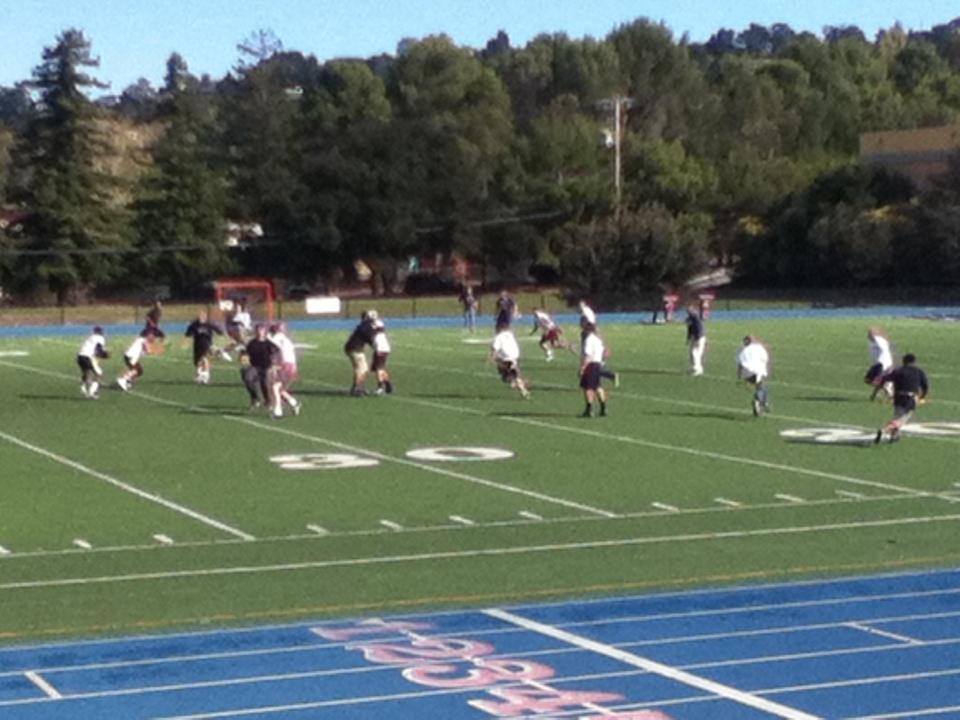 Staff Vs. Student Football game