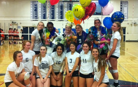 Carlmont Girl's Varsity Volleyball team