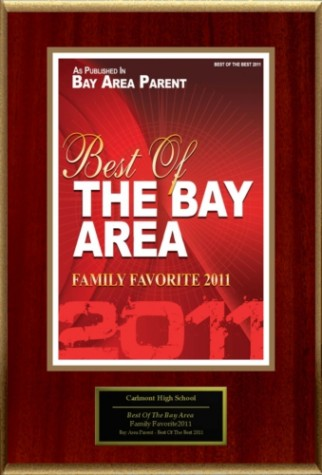 Carlmont High named 'Best of the Bay Area'