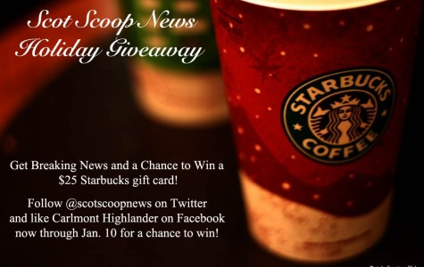 Holiday Giveaway: $25 Starbucks gift card