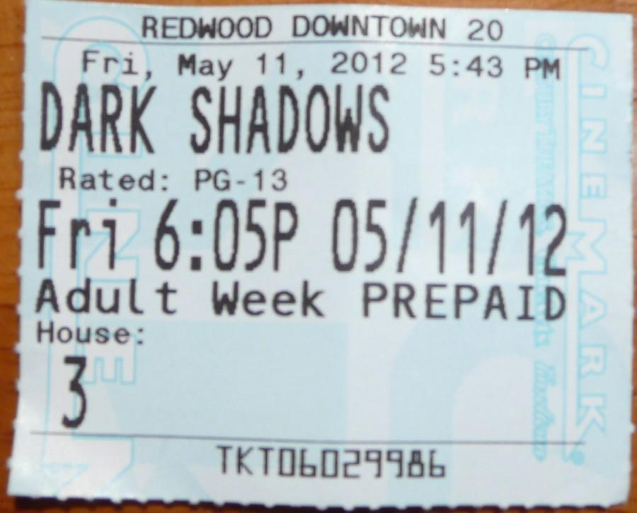 Dark Shadows: still a better love story than Twilight