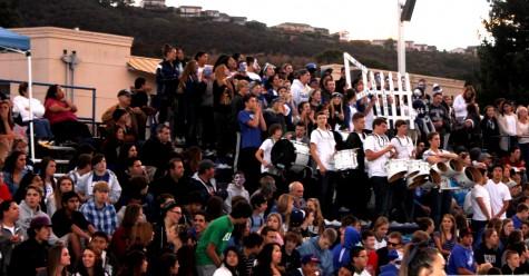 Students enjoy football game despite loss