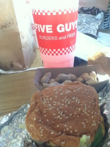 Five Guys Burgers and Fries a top pick