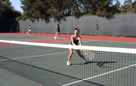 Varsity girls tennis wins against former PAL champions