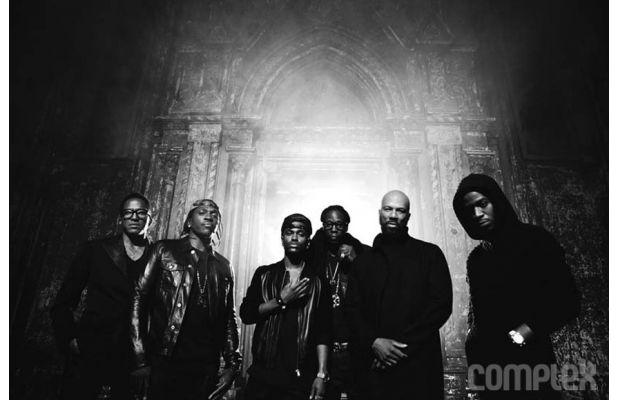 Kanye+West%27s+G.O.O.D+Music+affiliates.