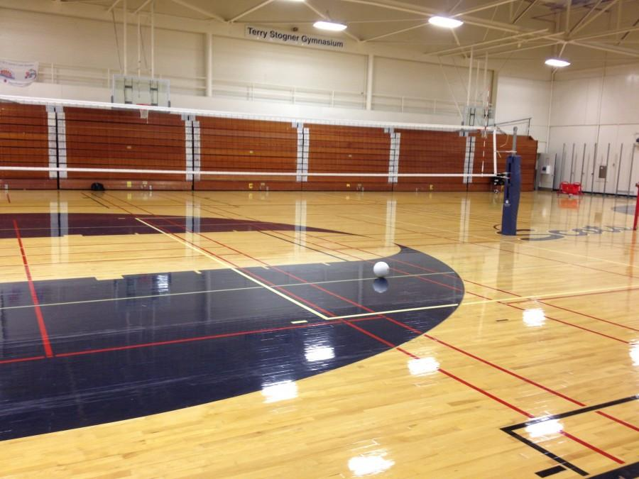 Terry Stogner Gymnasium was quiet on Sep. 11, 2012