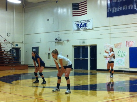 Varsity volleyball scores first win of the season