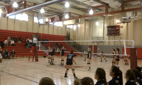 Frosh-soph volleyball's undefeated season tarnished