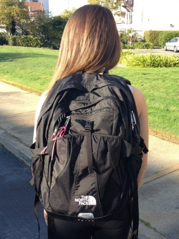 The North Face backpacks are taking over