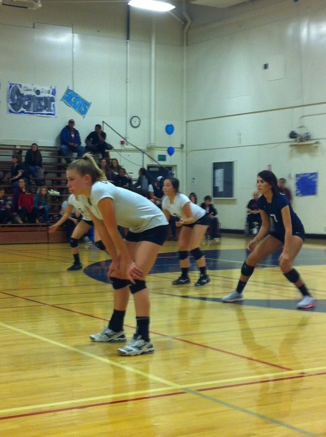 Volleyball+seniors+play+their+last+home+game