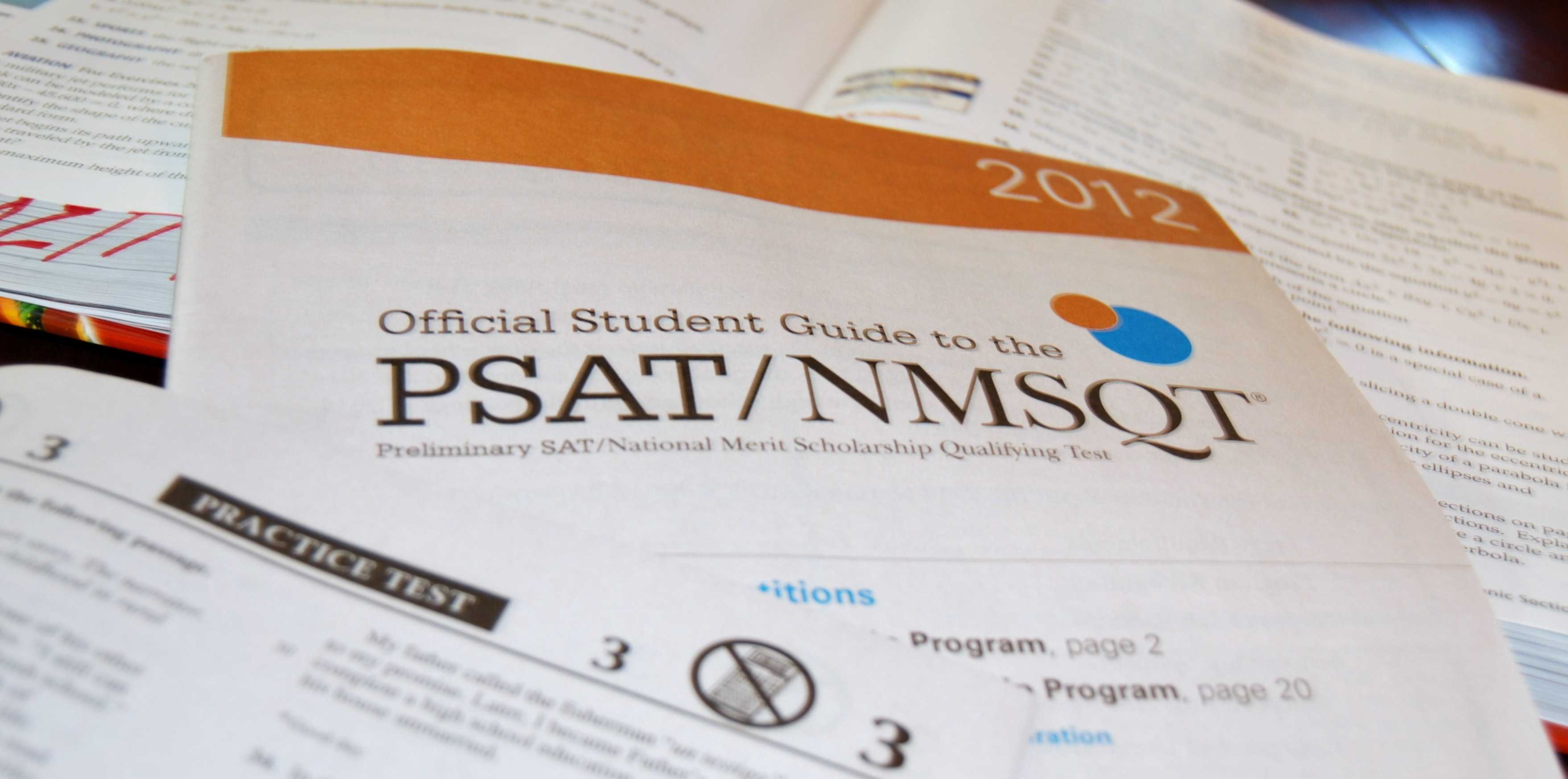 It's that time: PSAT time.
