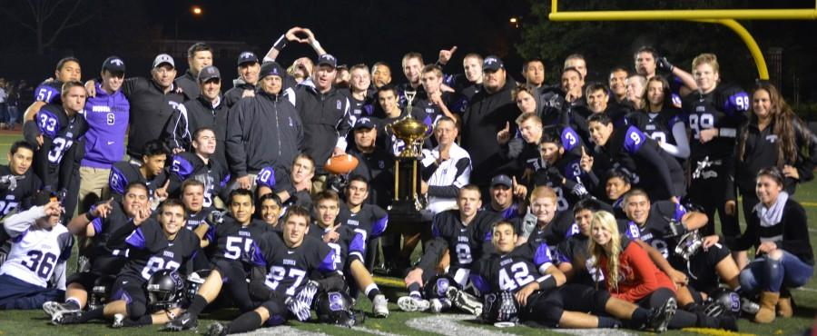 Sequoia wins back the Terremere Trophy in a 35-0 romp over Carlmont