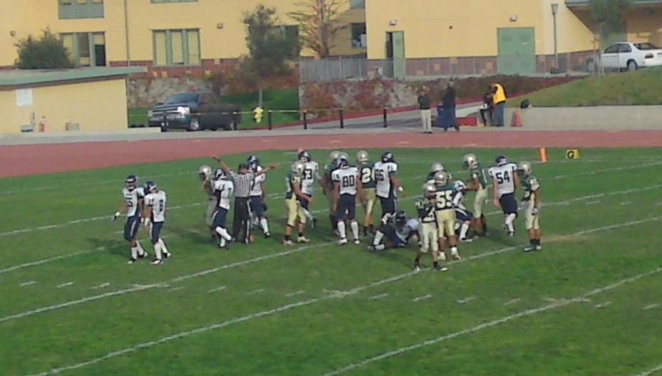 Mustangs score touchdown and field-goal