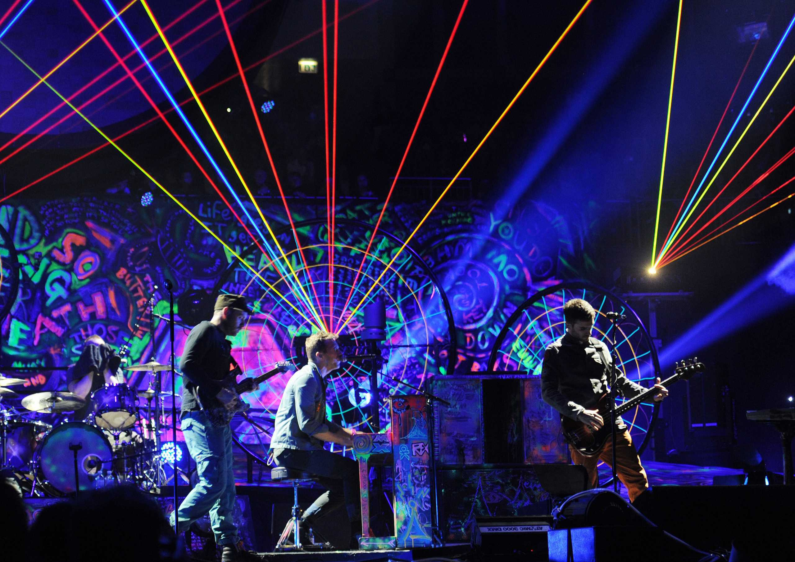 Mylo Xyloto tour: Last chance to see Coldplay for 3 years