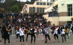 Beginning Dance rocking out to Michael Jackson's
