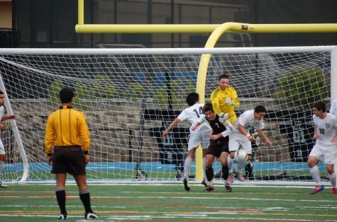 Mens soccer played strong despite loss
