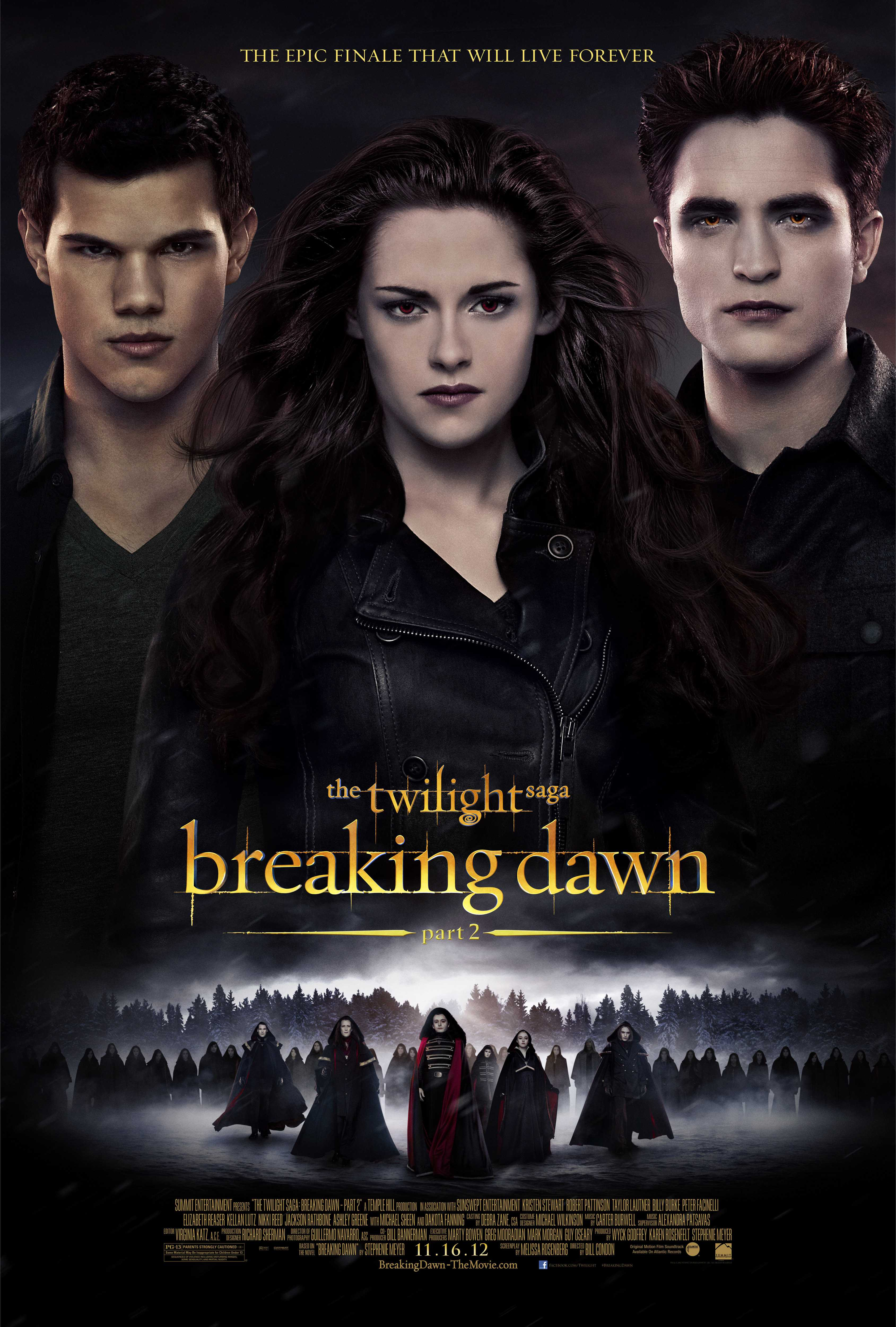 Vampire movie 'Breaking Dawn' didn't suck