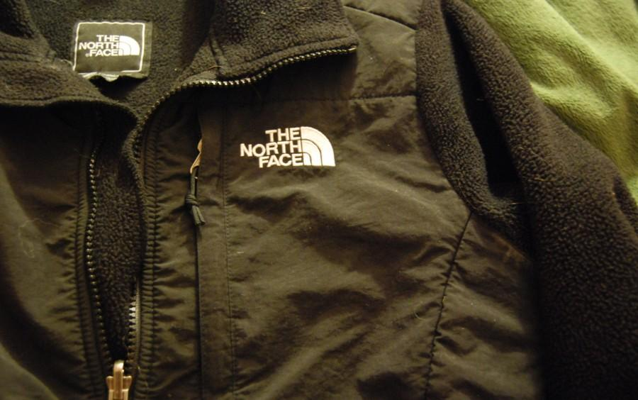 The famous black Denali North Face.