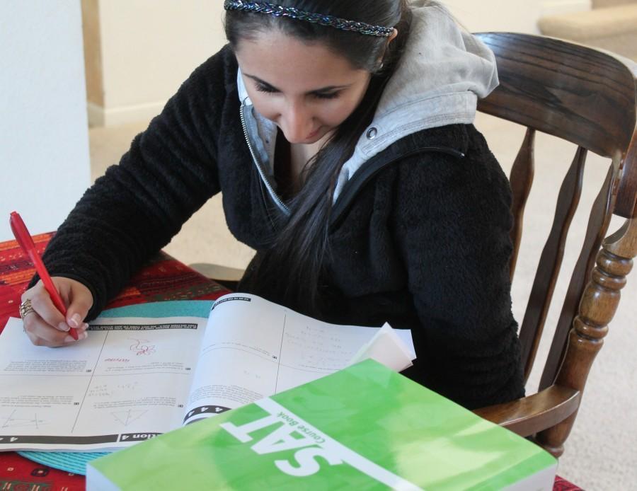 Rachna+Gandhi+studies+for+the+upcoming+SAT.