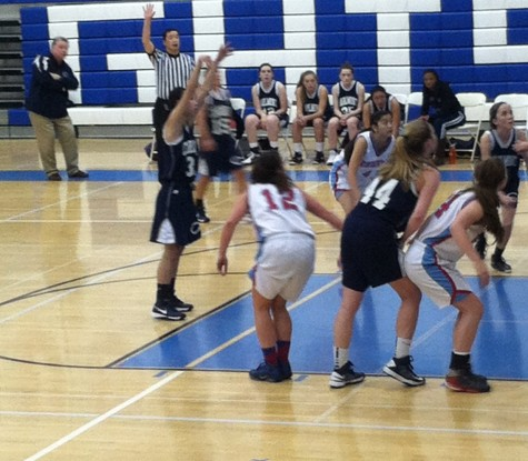 Girls varsity basketball unsuccessful against Hillsdale