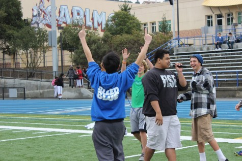 ASB beats the teachers in the Penalty Kick Shootout