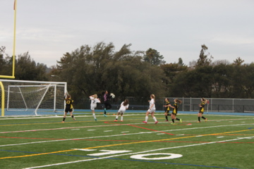 Varsity girls soccer vs. Terra Nova