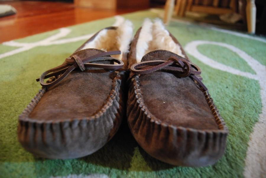 The famous Ugg moccasins.