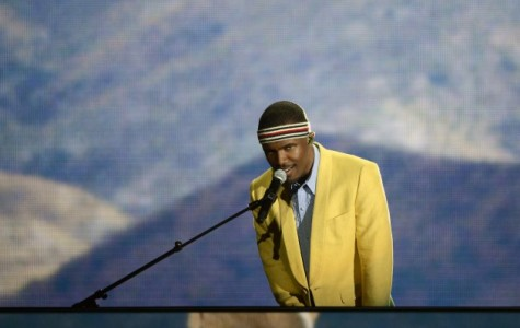 Ocean singing 'Forrest Gump' in his debut Grammy performance