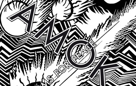 Amok is the debut LP from Atoms For Peace