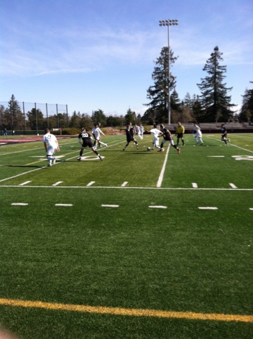 Varsity boys soccer rallies for win over Salinas